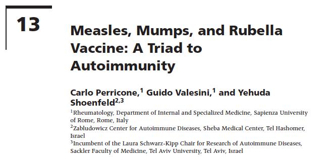 MMR - Una Triade per la Malattia Autoimmune