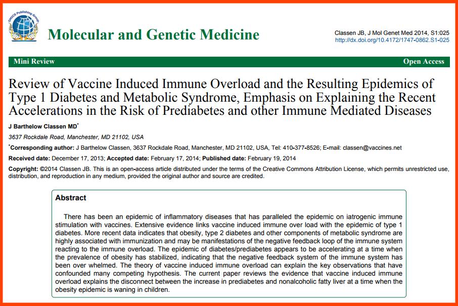 Patologie Autoimmuni da Sovrastimolazione Vaccinale
